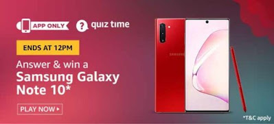 Amazon Quiz Answers Today 31May