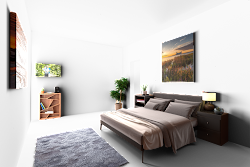 virtual transparent staging before output would empty layer composited furniture