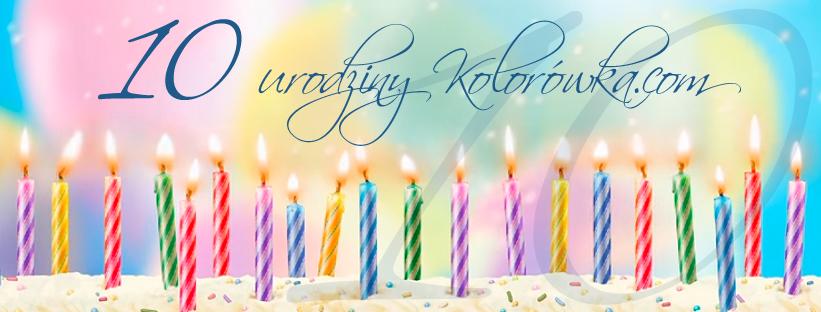 10 urodziny sklepu Kolorowka.com! Konkurs, wywiad, rabaty i coś ekstra dla Was!