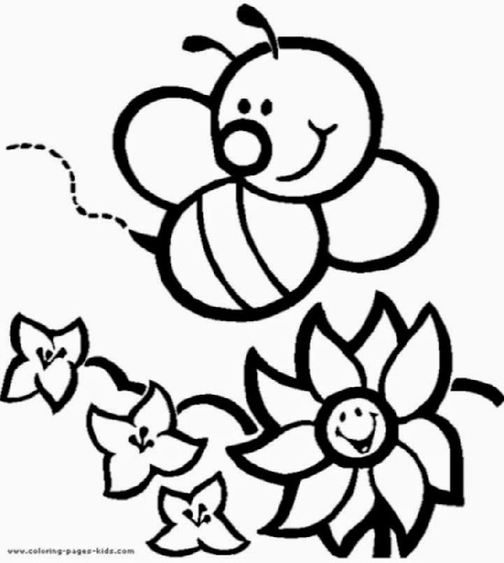 Free printable bumble bee coloring pages for Free coloring pages bees