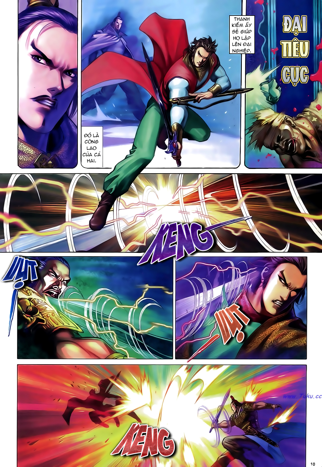 Anh hùng vô lệ Chap 24 trang 11