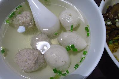Ru Ji Kitchen, fishball soup