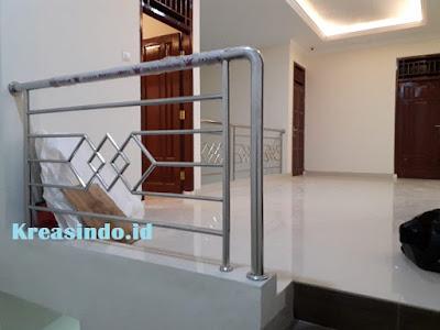 Railing Balkon Stainless Pesanan Bpk Suyono di Tebet Jakarta Selatan