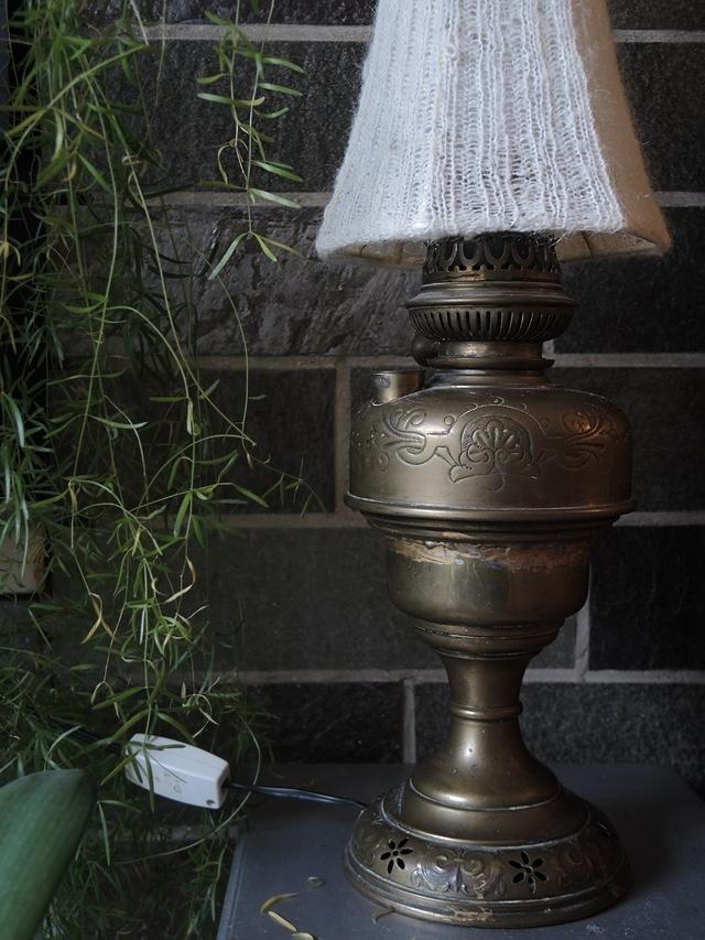 DIY: mijn nieuwe gebreide lampenkap/my new knitted lampshade