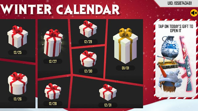 Winter is Coming Garena Free Fire New Event