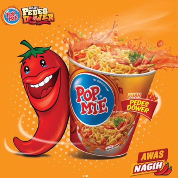 Riview Pop mie Dower Pedas Gilaaa !!