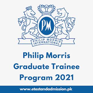 Philip Morris Graduate Trainee Program 2021