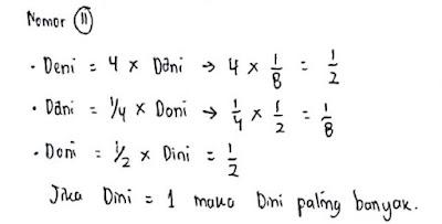 Contoh Soal Psikotes Matematika dan Jawabannya 8