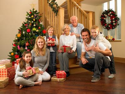 pasar la navidad en familia