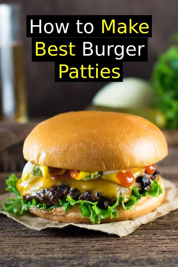 How to Make Burger Patties Like a Restaurant | Best Burger Recipe #burger #beef #hamburger #dinner #easydinner #patties