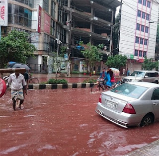Rivers of blood flow through the Bangladeshi capital
