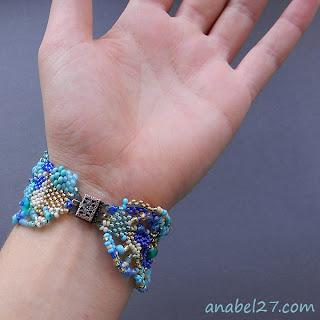 купить браслеты бохо оригинальный браслет в стиле бохо фриформ из бисера ру
