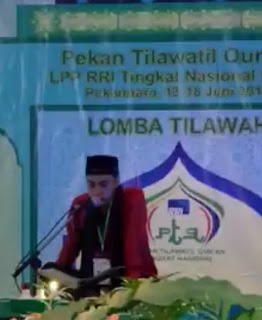 Mp3 Tilawah Qori' Salman Amrillah - MTQ RRI Nasional 2016 Pekanbaru