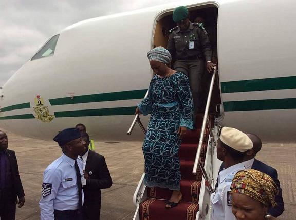 dolapo osinbajo presidential jet