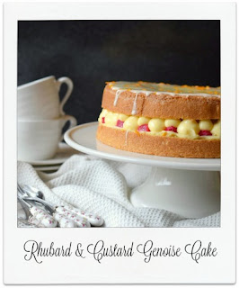 This delicate genoise cake recipe marries the classic flavour combination of rhubarb and custard, teaming it with orange for extra deliciousness.  It produces a wonderfully delicious light sponge cake which is perfect for sharing over afternoon tea.