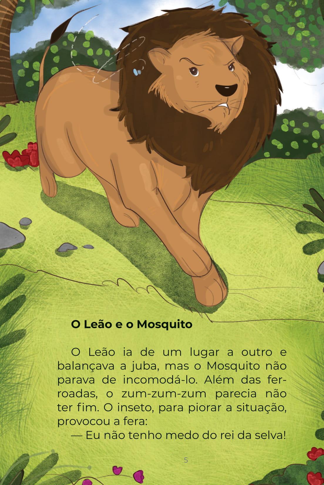 O Leão e o Mosquito