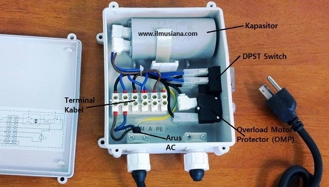 Isi Control Box Pompa Submersible