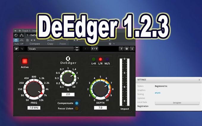 TDR OD DeEdger 1.2.3 by Tokyo Dawn Records & Ohlhorst Digital VST, VST3, AAX x86 x64