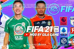 Download FiFa 21 Piala Menpora & Full Kompetisi Eropa 2021 HD By Gila Game
