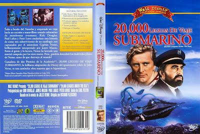 20.000 Leguas De Viaje Submarino | 1954 | Caratula