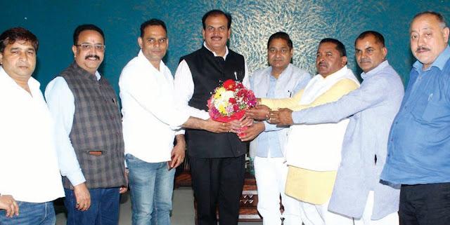 Sandeep Joshi welcomed a meeting of Lok Sabha Monitoring Committee