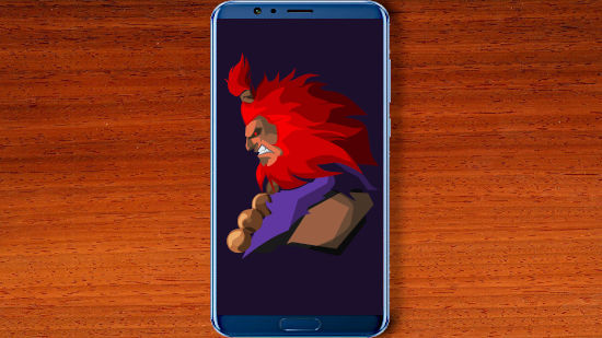 Akuma - Street Fighter V - QHD pour Mobile