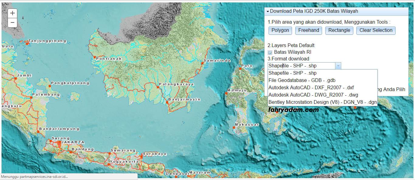 Data CAD Wilayah Se Indonesia Fahrybook
