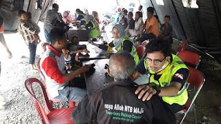 Kerjasama STKIP TAMSIS, UI dan POLRES Peduli Korban Banjir