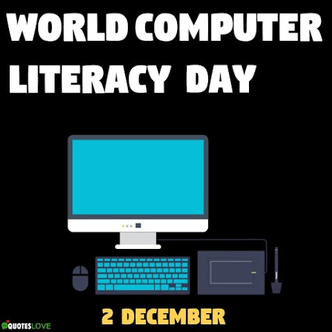 (Latest) World Computer Literacy Day 2020 Images, Pictures, Poster, Photos
