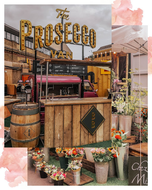 Vinegar Yard London Bridge The Prosecco Van