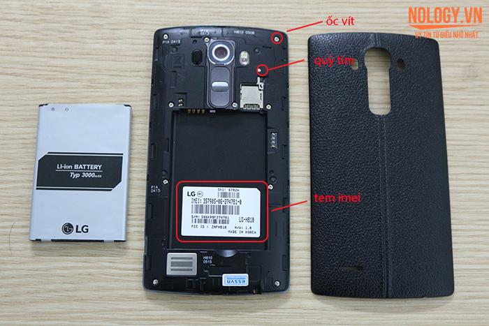 kiểm tra LG G4 cũ như thế nào