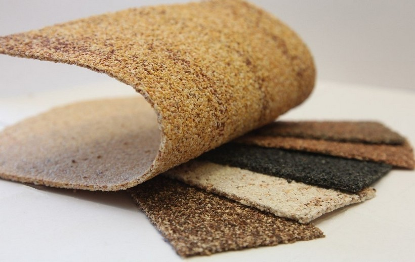 Manufacturing of flexible stone