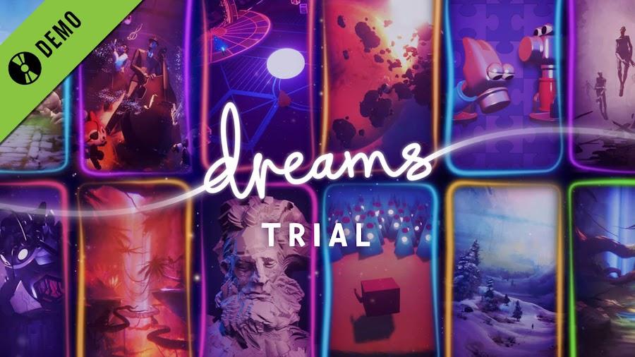 dreams demo ps4 free game creation system media molecule sony interactive entertainment