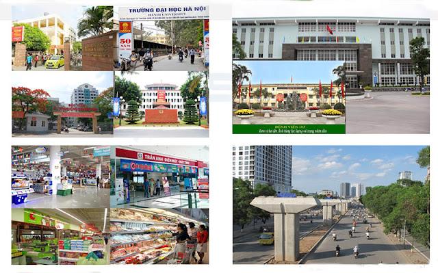 Tiện ích xung quanh chung cư Golden Millennium 110 Trần Phú Hà Đông