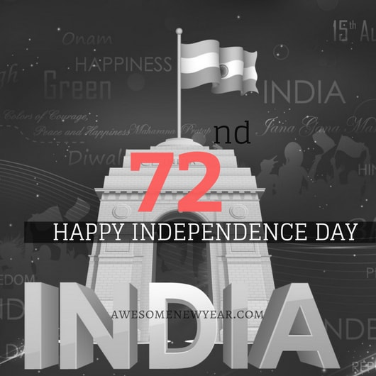 72nd independence day Wishes