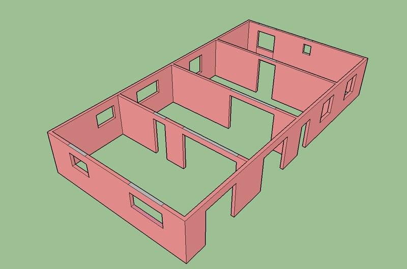 projet de construction d 39 une dalle en b ton b tir sa. Black Bedroom Furniture Sets. Home Design Ideas