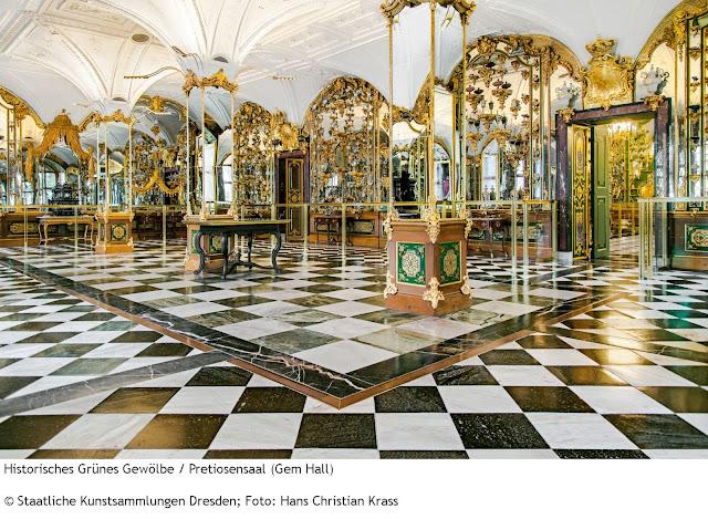 Historisches Grünes Gewolbe, Residenzschloss, Dresden, Alemanha