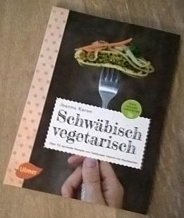 Schwäbisch vegetarisch. Werbelink zu Amazon.de