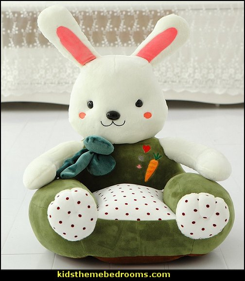 rabbit Kids Plush chair
