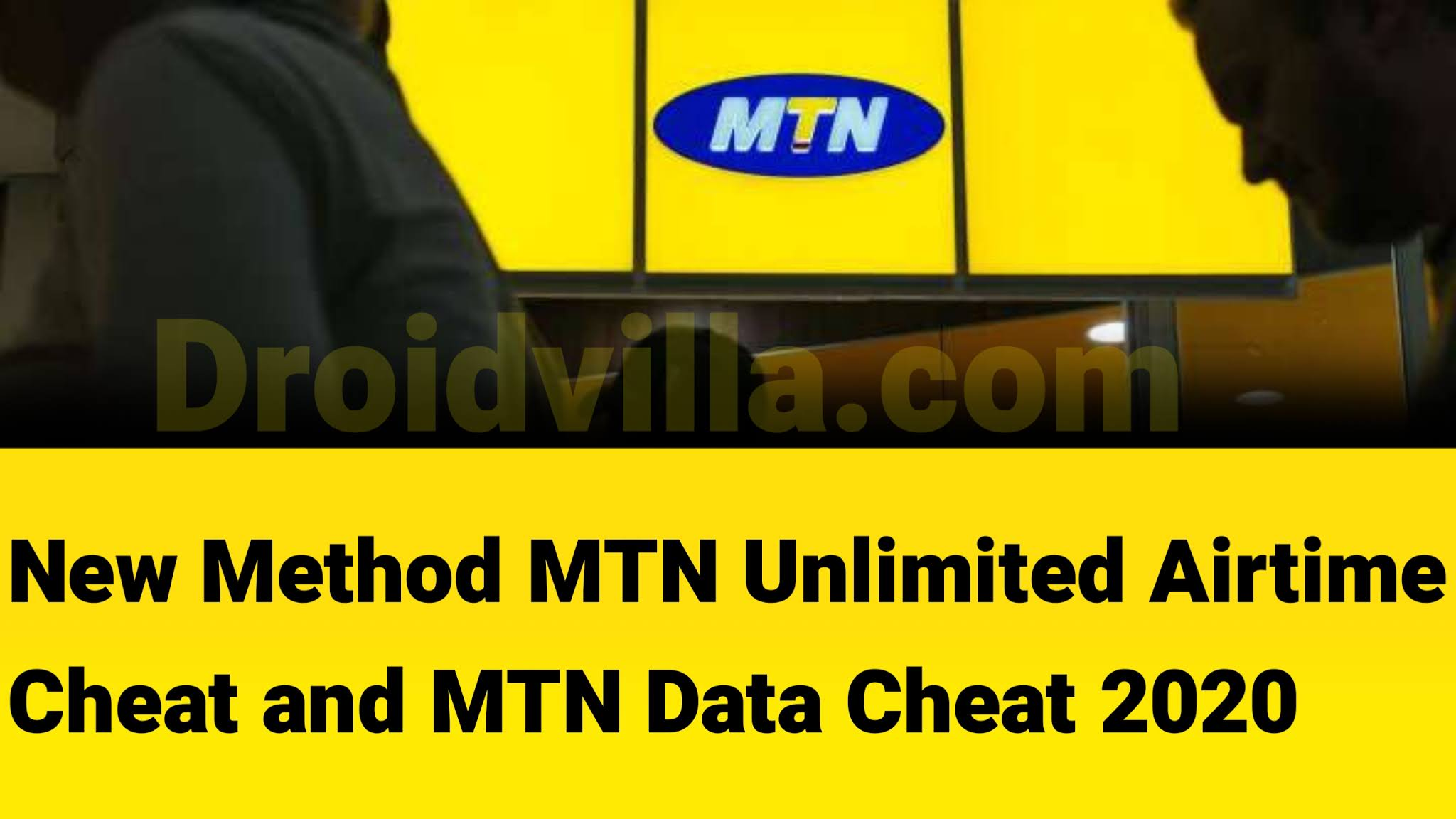 Mtn unlimited airtime and data cheat