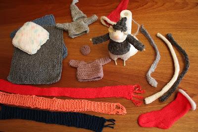Ubranka dla szczurka Waldemara