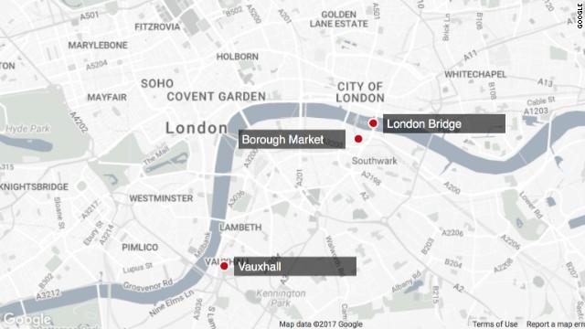 LIVE:London Bridge terror incident