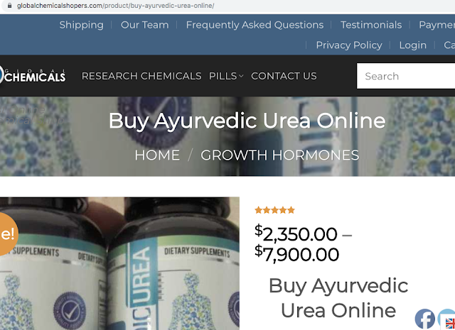 fake ayurvedic urea scammers fraud