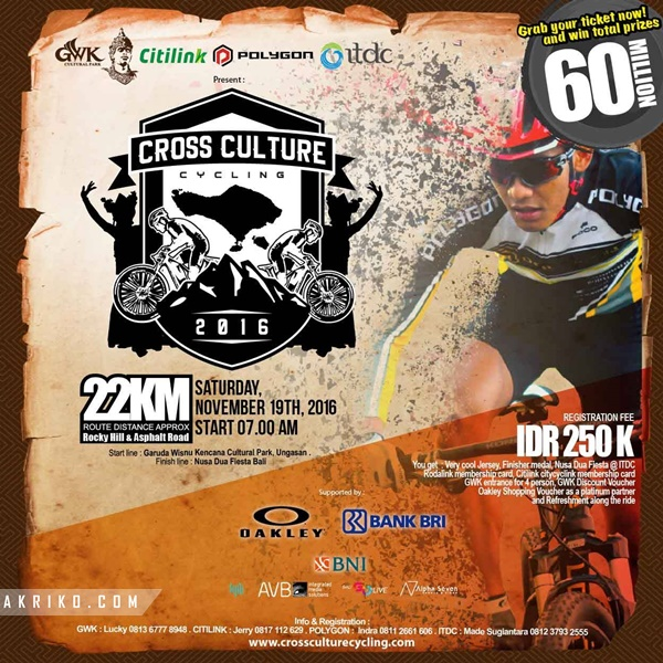 Bali Cross Culture Cycling 2016