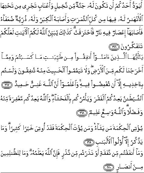 Surat Al Baqarah Ayat 261 : surat, baqarah, Surat, Baqarah, Lengkap, Dengan, Terjemahannya, Alquran