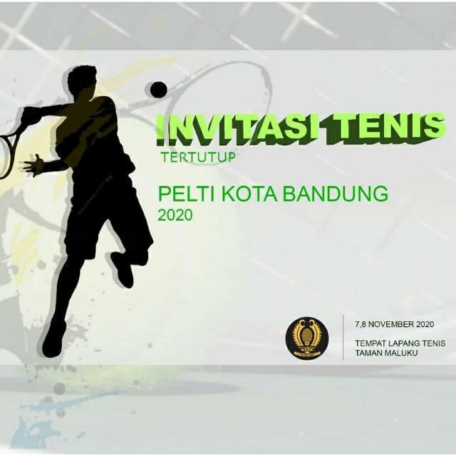 Pengkot PELTI Bandung Gelar Invitasi Tenis