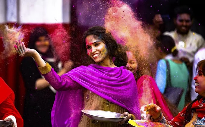 Rituals of Holi