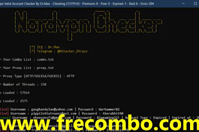NORDVPN CHECKER BY DR.MAX CRACKED