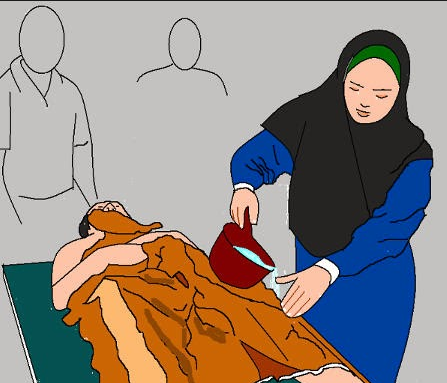 Bolehkah perempuan haid memandikan mayat?