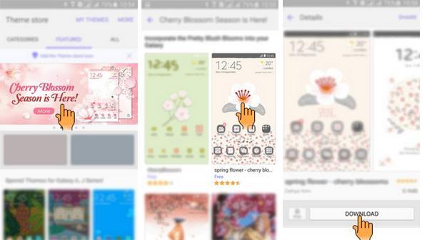 Cara Mengganti Theme Tema Pada Hp Samsung Galaxy Tips Cara Dan